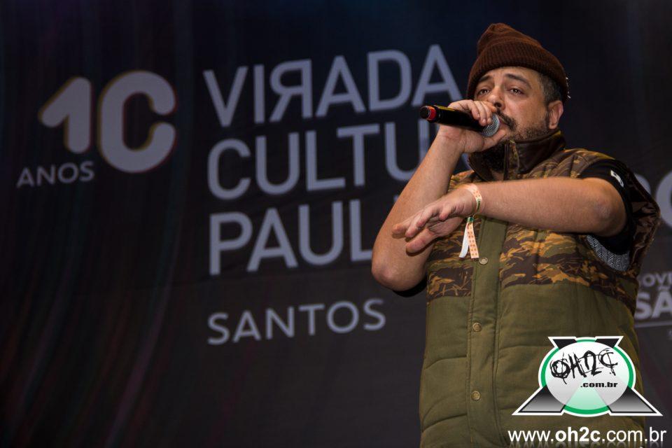 Rapper Rodrigo OGI e Motim na 10° Edição da Virada Paulista - Santos / SP - 29/05/2016