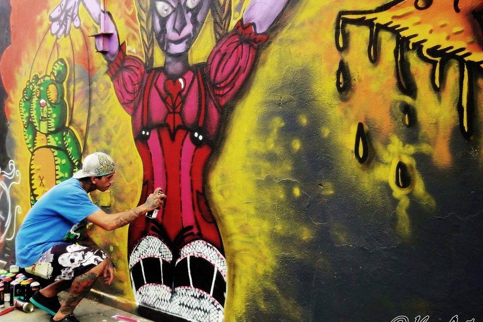 Festival Inter. de Art Urbana Beantatuz (Espanha) - S. Vicente/SP - 9,10 e 11/05/16