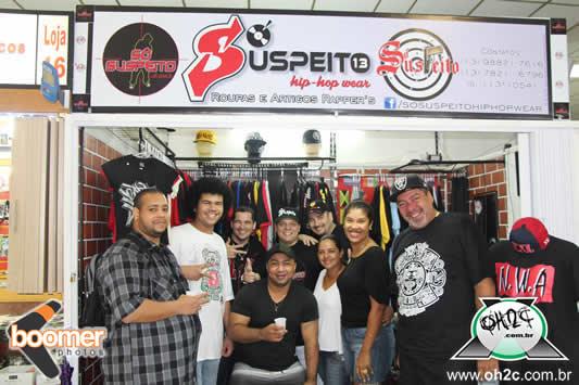 Inauguração da Loja Só Suspeito - Santos / SP - 06/06/2014