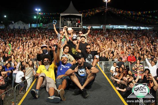 """Show do Rapper RAPdura Xique-Chico """" Danado de Bom """" - Cubatão / SP - 16/11/2014"""