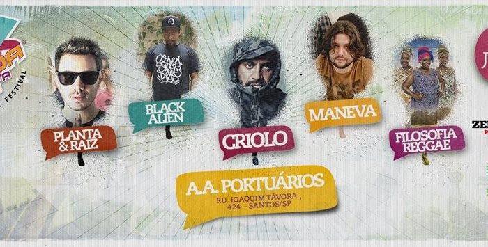 Na Batida Perfeita – Music Festival - Santos/SP