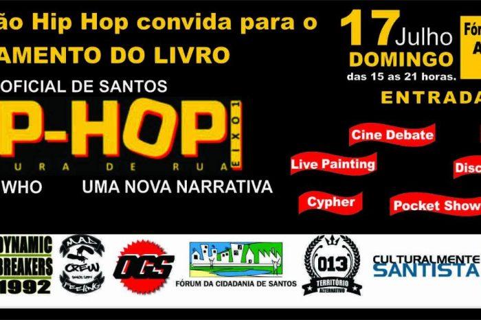 2ª Edição do Cine Estação Hip Hop em Santos - Entrada Franca