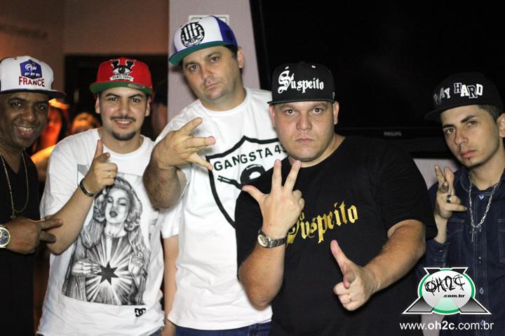 Show do Grupo de Rap Consciência Humana e Convidados - Santos / SP - 29/11/2014