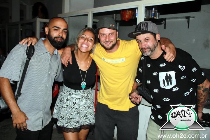 Gravação do Clip do Rapper Tatu ( Art Radical ) Live Clube - Santos / SP - 17/09/2015
