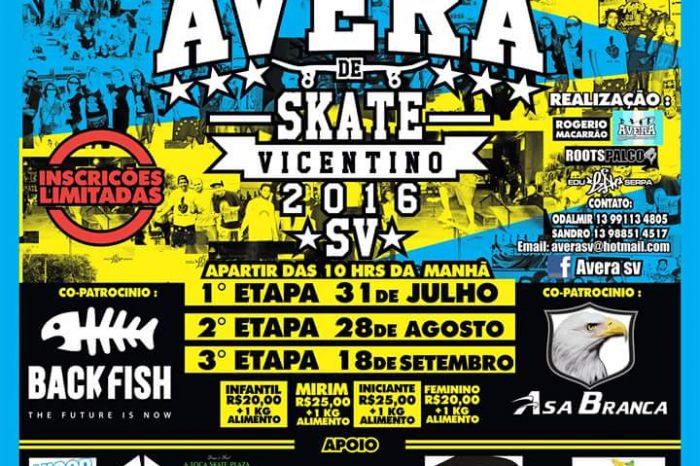 16° Circuito AVERA de Skate Vicentino 2016 - (Clique e Compartilhe)