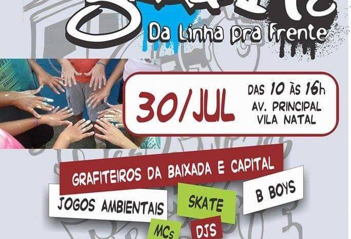 """Mutirão de Graffiti """"Projeto da Linha pra Frente"""" em Cubatão/SP - (Clique e Compartilhe)"""