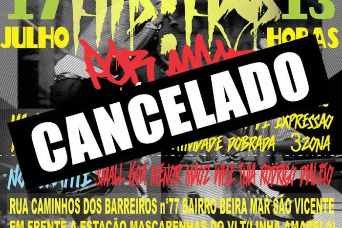 CANCELADO - 1º Edição do Hip Hop por Amor em São Vicente / SP