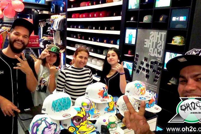 Confira a Participação da FamilyArtBr Crew no Custom Day na New Era Store do Shopping Norte Cantareira, em Pirituba/SP - (Clique e Compartilhe)