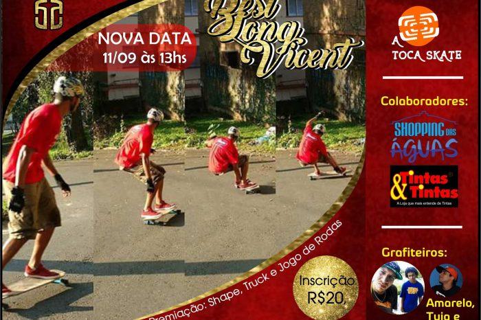 A Toca Skate Divulga Nova Data do BestLongVicent no Ilha Porchat em São Vicente/SP - (Clique e Compartilhe)