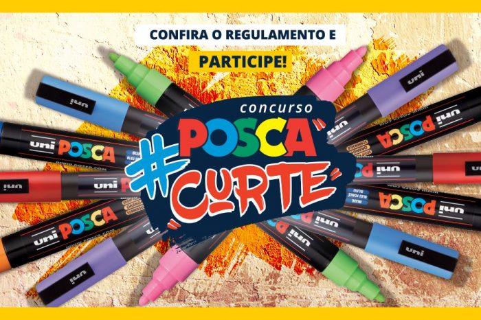 Quer Participar do #POSCAcurte e ainda Ganhar um Kit de Canetas POSCA? Então dê uma Olhada - (Clique e Compartilhe)