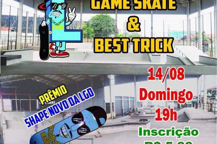 Dia 14/08 tem Game of Skate e Best Trick no SkatePark Espaço Alvorada (Quietude) Praia Grande/SP - (Clique e Compartilhe)
