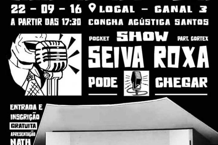 Dia 22/09 (Quinta-Feira), tem Batalha do Conhecimento na Concha Acústica em Santos/SP – (Clique e Compartilhe)