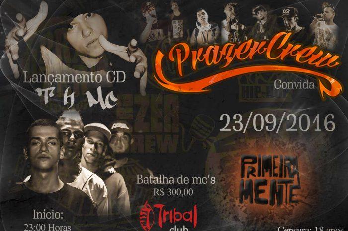 Dia 23/09 na Tribal Club Santos o Lançamento do Primeiro Disco do T H MC, ''Foco na Batalha'' - (Clique e Compartilhe)