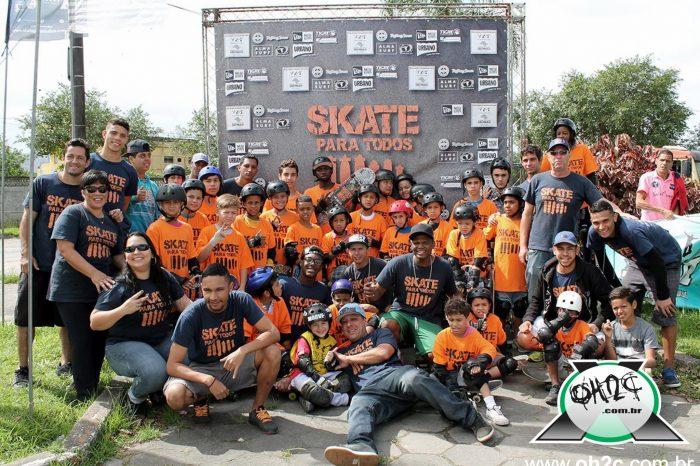 """Fotos da Plataforma """"Skate Para Todos"""" que rolou em São Vicente/SP - (Clique e Compartilhe)"""