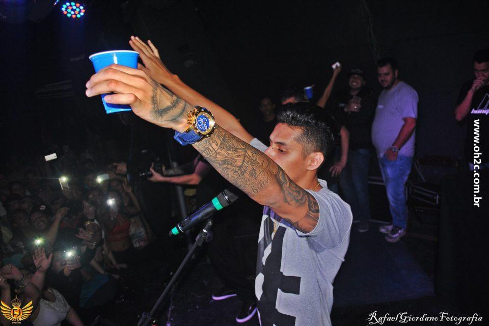 Fotos do Show do Rapper Hungria Hip Hop & Voz de Assalto no Barcelona Chopperia - São Vicente/SP - (Clique e Compartilhe)