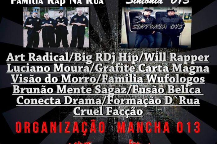 Rap Contra Fome dia 26/11 no Jd. Rio Branco em São Vicente - (Clique e Compartilhe)