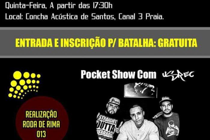 """Roda de Rima #013 Apresenta dia 17/11 """"Batalha na Concha"""" 5° Edição em Santos/SP - (Clique e Conpartilhe)"""