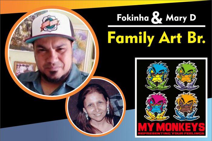 """Entrevista com os Artistas Urbanos Fokinha & Mary D. da """"FamilyArt Br"""" - (Clique e Compartilhe)"""