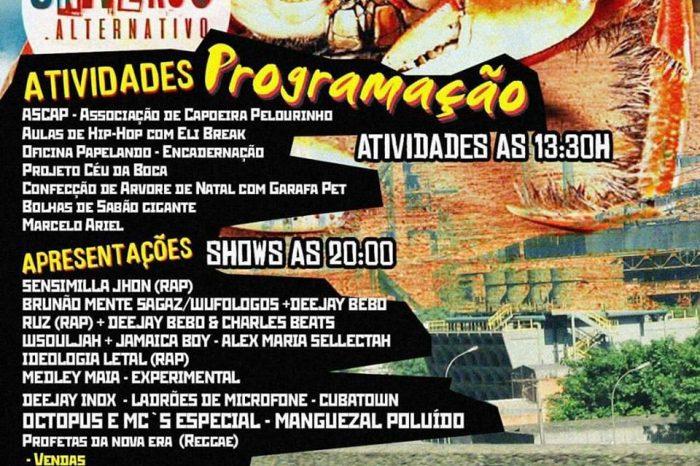 """Coletivo Novo Paraíso Apresenta dia 19/11 em Cubatão/SP """"Universo Alternativo Edição nº 4"""" - (Clique e Compartilhe)"""