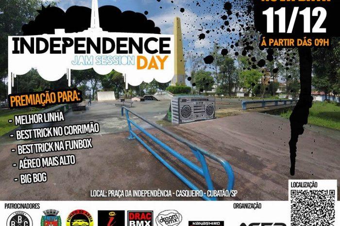 Independence Jam Session Day acontece dia 11/12 (domingo) no Jd. Casqueiro em Cubatão/SP – (Clique e Compartilhe)