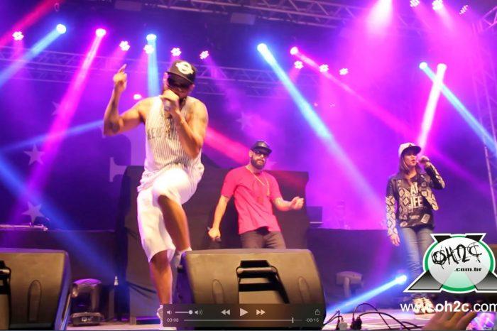 """""""Vídeo Exclusivo"""" - Tribo da Periferia feat: Look e BellaDona - Música: Visão Ta Ouro na Titanium Music Hall em São Vicente/SP - (Clique e Compartilhe)"""