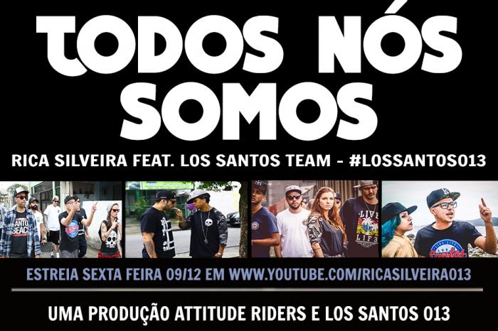 Em parceria com marca de Streetwear, Rapper Rica Silveira lançará Videoclipe com participações de diversos artistas da Baixada Santista nesta sexta-feira 09/12 - (Clique e Compartilhe)