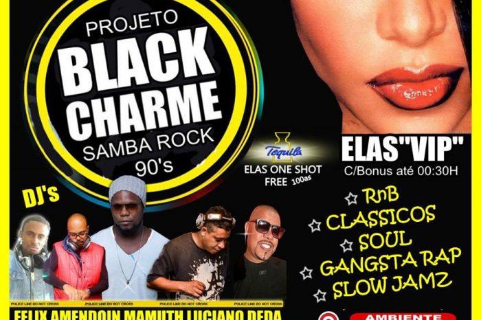 Projeto Black Charme & Samba Rock Anos 90 em São Vicente/SP - (Clique e Compartilhe)