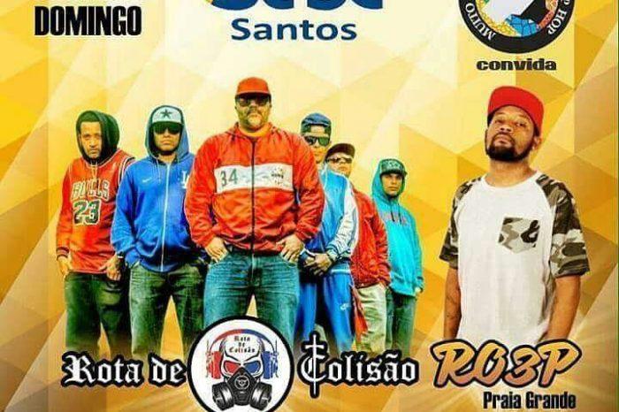 """Sesc Santos e Projeto Muito Prazer! meu nome é Hip Hop apresentam dia 18/12 o grupo de rap """"Rota de Colisão"""" - (Clique e Compartilhe)"""