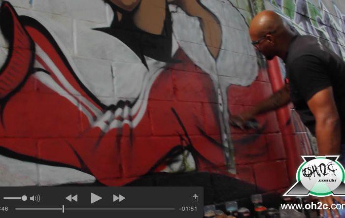 NO AR - Vídeo da 17ª Mostra de Graffiti e Festa de Natal do Hip Hop no Santa Rosa em Guarujá/SP – (Clique e Compartilhe)