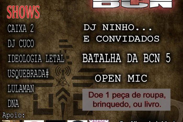 Us Quebrada apresenta dia 29/01 a 8ª Edição do RAP NA BCN na cidade do Guarujá/SP - (Clique e Compartilhe)