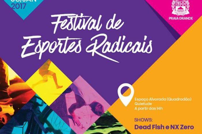 Dia 08/01 acontece o 2º Festival de Esportes Radicais de Praia Grande / SP - ( Clique e Compartilhe )