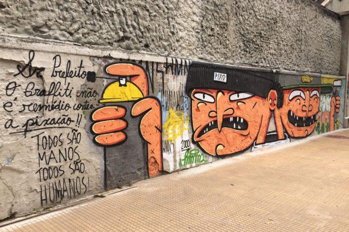 Após Polêmica, Governo Doria em São Paulo/SP lança Projeto de Museu a céu aberto para Grafiteiros - (Clique e Compartilhe)