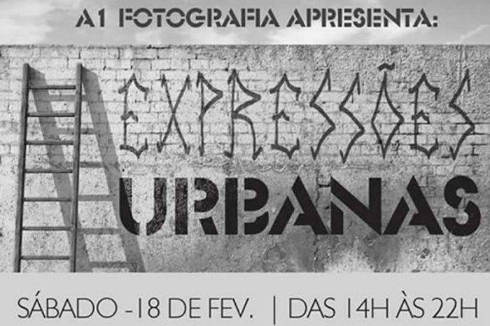 """Projeto Arte na Parede Apresenta """"Expressões Urbanas"""" dia 18/02 no Estúdio A1 Fotografia em Santos/SP - (Clique e Compartilhe)"""