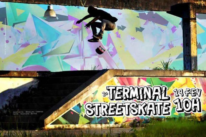 Dia 19/02 (domingo), acontece o 1º Terminal Street Skate em Bertioga/SP - (Clique e Compartilhe)