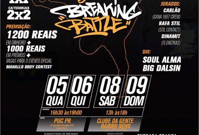 6ª Edição do Street of Styles recebera por mais um ano a Breaking Battle da Mahallo Bboy Contest - (Clique e Compartilhe)