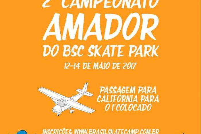 """Brasil Skate Camp apresenta """"2º Campeonato Amador"""" que vai levar outro Skatista para a Califórnia - (Clique e Compartilhe)"""