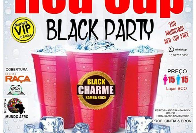 """Projeto Black Charm Edição """"RED CUP PARTY"""" dia 25/03 em São Vicente/SP - (Clique e Compartilhe)"""
