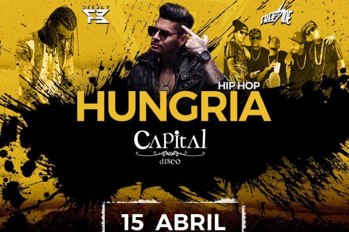 BE RAP Apresenta dia 15/04 Hungria Hip Hop e Convidados na Capital Disco em Santos/SP - (Clique e Compartilhe)