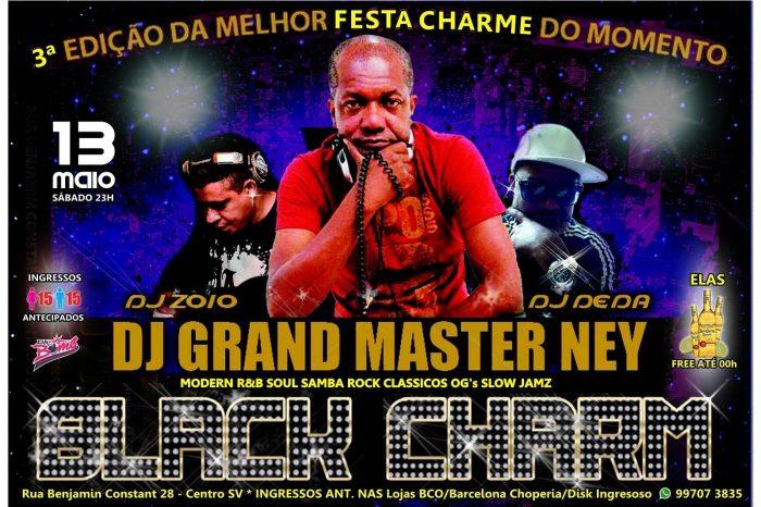 """Projeto - Black Charm Edição """"Revival"""" dia 13/05 em São Vicente/SP – (Clique e Compartilhe)"""