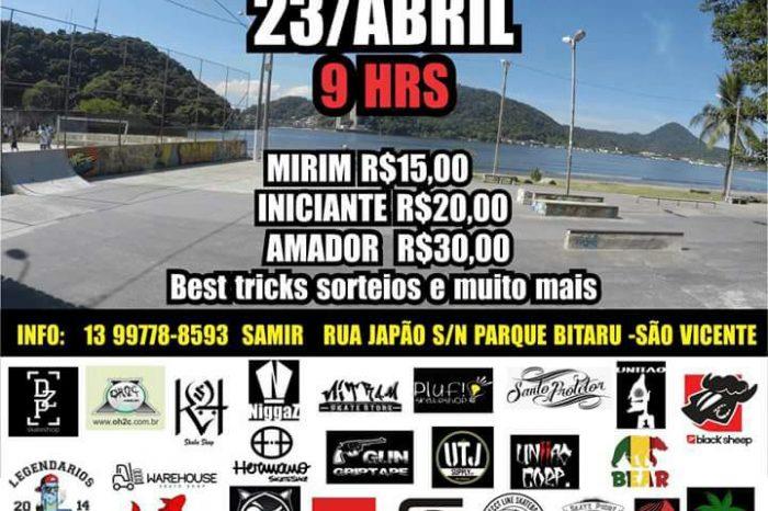 2° Batalha Street Japan de Skate dia 23/04 na Rua Japão em São Vicente/SP - (Clique e Compartilhe)