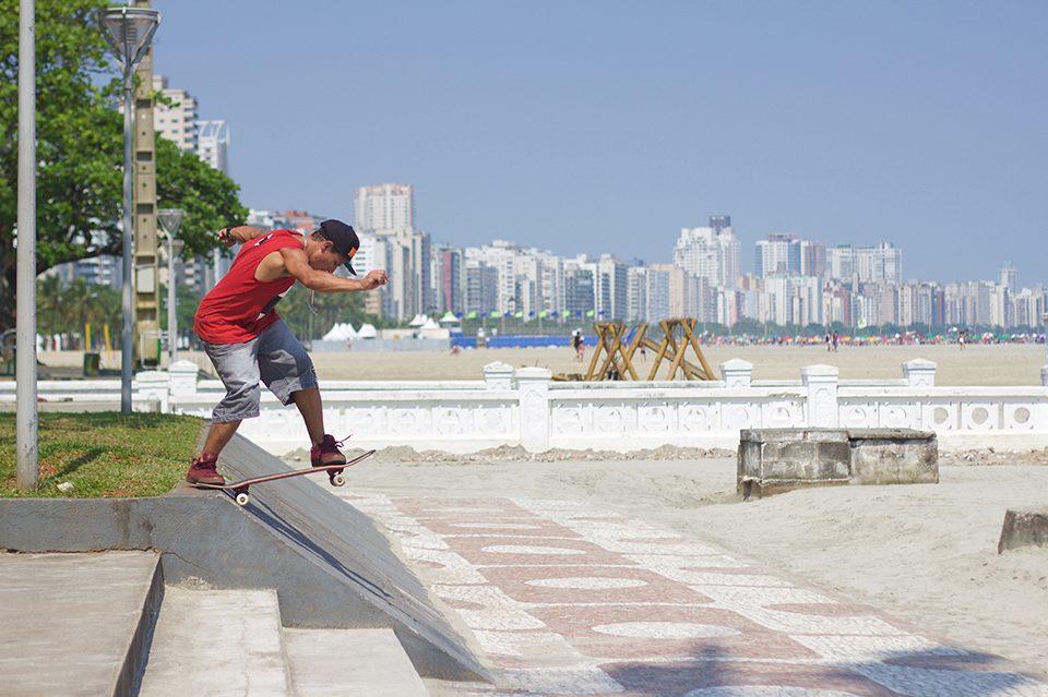 """Samir Franklin é o mais novo retratado da seção """"Skate Brasileiro na Net"""" da Revista 100% Skate - (Clique e Compartilhe)"""