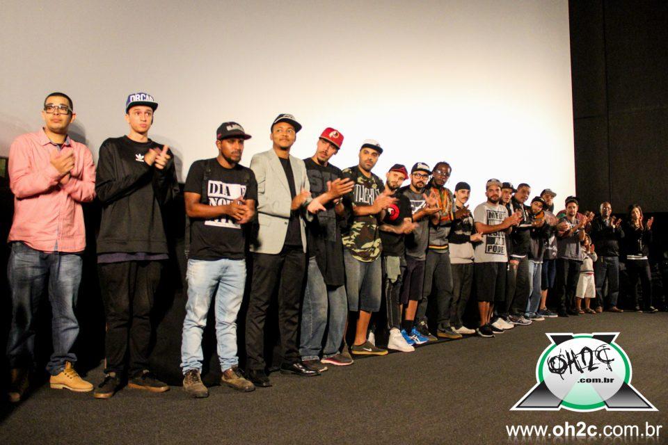 Fotos da 1ª Mostra de Vídeo Clipe de Rap Caiçara no Cine Roxy 4 do Shopping Pátio Iporanga em Santos/SP - (Clique e Compartilhe)