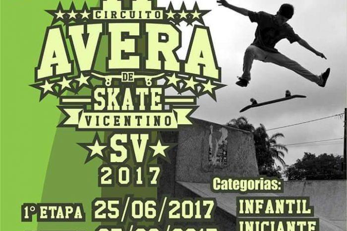 Vem ai a 17º Edição do Circuito AVERA de Skate Vicentino 2017 - (Clique e Compartilhe)