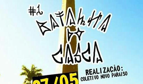 """Coletivo Novo Paraíso Apresenta 1º Batalha do Casca """"Skate e Rap"""" em Cubatão/SP - (Clique e Compartilhe)"""