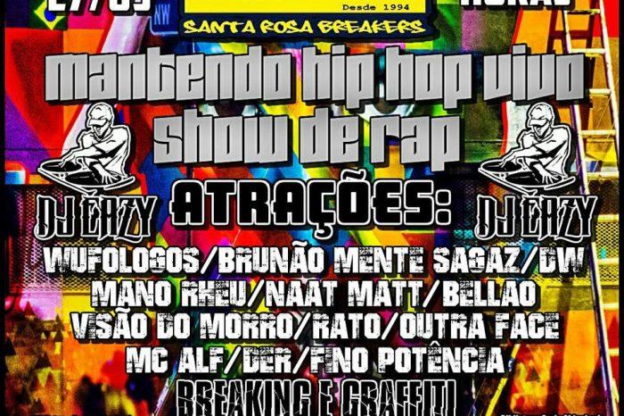 """SRB apresenta dia 27/05 mais uma Edição do Tradicional """"Mantendo o Hip Hop Vivo"""" no Guarujá/SP – (Clique e Compartilhe)"""