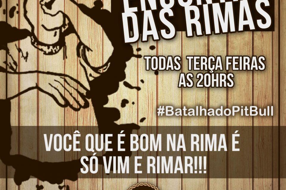 Projeto Encontro das Rimas apresenta #BatalhadoPitbull todas Terças-Feiras em São Vicente/SP - (Clique e Compartilhe)