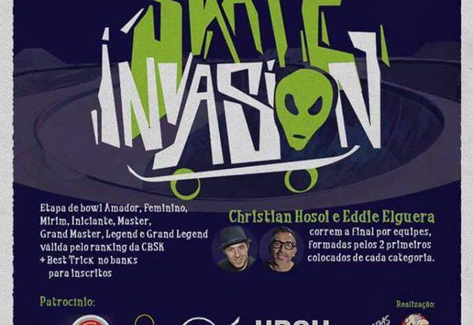 """1ª BH Skate Invasion """"Inauguração da Reforma da Pista da Lagoa do Nado em BH"""" - (Clique e Compartilhe)"""