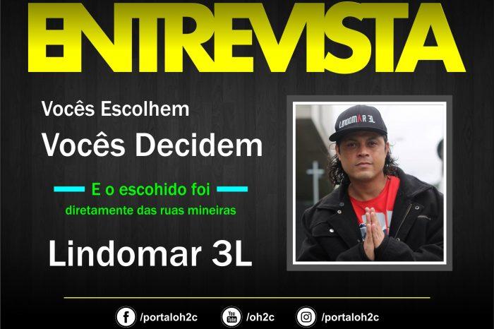"""Confira a Entrevista do Rapper Lindomar 3L no Projeto """"Vocês Escolhem, Vocês Decidem""""- (Clique e Compartilhe)"""