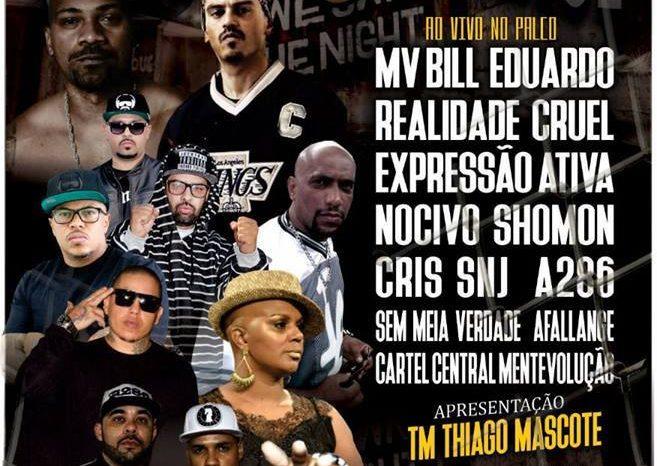"""Gangsta Paradise Edição nº13 """"Aniversário de 7 Anos"""" em Guarulhos/SP - (Clique e Compartilhe)"""