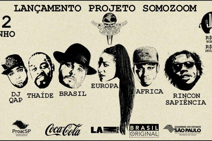 """Lançamento do Projeto """"Somozoom"""" na Jai Club em São Paulo/SP - (Clique e Compartilhe)"""